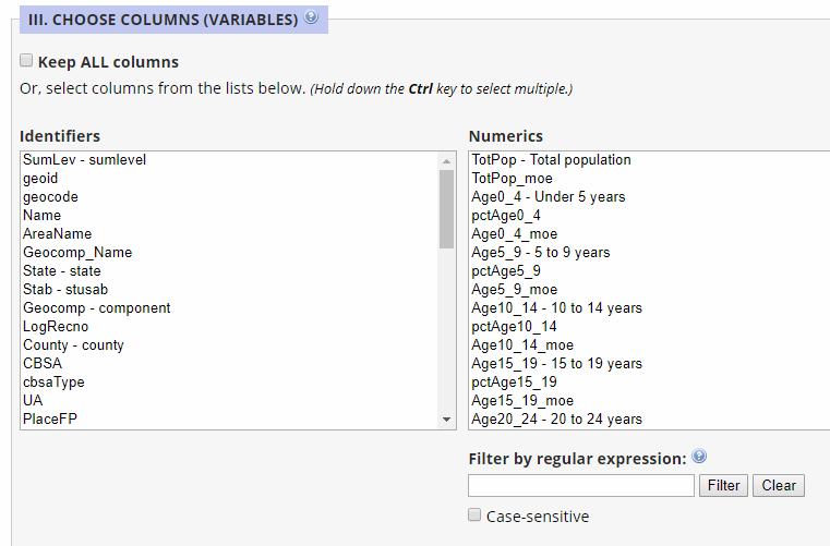 Item 8: Downloading Custom Extracts via Dexter - MCDC